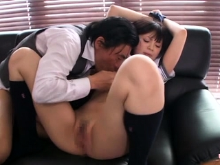Asian schoolgirl likes to check b determine rods plus to succeed in shoved