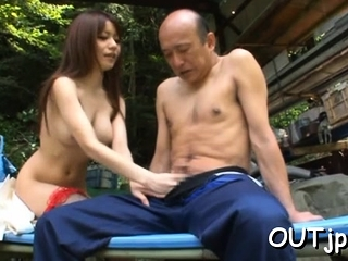 Fervent busty cutie Miki Itoh does her best here get jizz