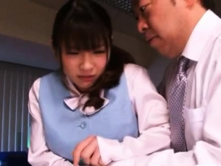 Pole riding amazes heavenly idol Saki Yuzumoto