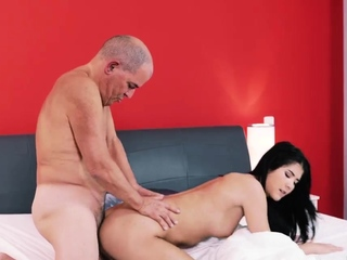 Old man cums in the air girl first time Older gentleman and his prin