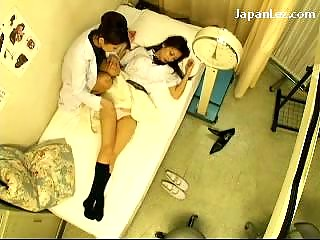 Schoolgirl Trifles Uniform Getting Her Nipples Licked Pussy Fingered Stimulated By The Schooldoctor At The Clinic