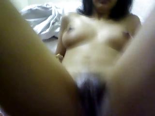 Indian Muslim inclusive having an orgasm.