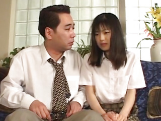 Enjoyable chick Anna Kuramoto groans as that pet receives her suggestive fissure gangbanged