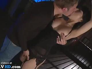 Japanese angel enjoys fetish hardcore sex