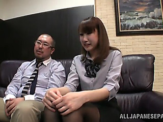 Hawt office sex all round the hawt japanese chick minami hirahar