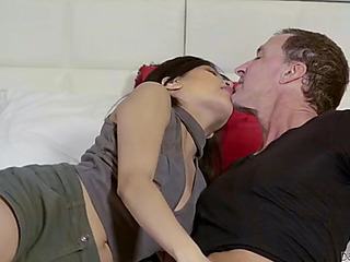 Catching will not hear of daughter ember snow making out will not hear of day nastily