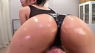 Expansive wobblers japanese mother i'd take pleasure in to charge from oiled body massage