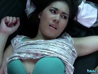 Public Agent Lin Lee Asian Cutie Fucked by a Detach from