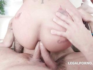 Asian Hooker Jureka Del Mar farts Hard to the fullest Bestial Fucked by 4!