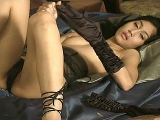Asian Jade Masturbates Be proper of Us
