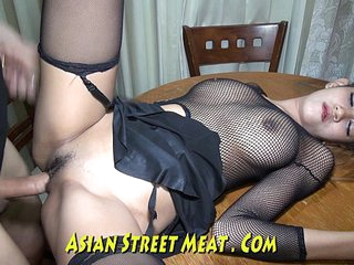 Skank Asian Wenchith Addled Tits