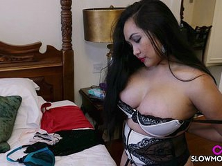 Amy Latina - Bedroom Jiggles big tits milf Meet with disaster Pinay Asian Babe