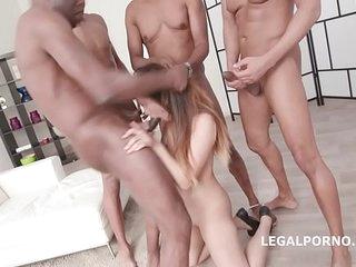 Asian gangbanged by blackcock see pt2 on AsianpornisTheNewLSD.com