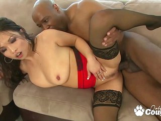 Asian MILF Mia Rider Drains Some Inky Boloney