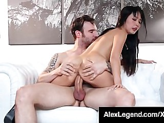 Sexy Samurai, Marica Hase, opens her tiny Jap cock garage to get fat dick Alex Remembered to fill her hole & cum all over her! Spry Video & Alex Gender Chicks @ Alex Legend.com!
