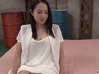 Hot japan girl Anna Mihashi suck a dick