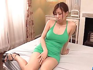 Hot japan girl Chihiro Akino drag inflate a dick