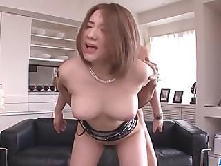 Hot japan girl Alice Ozawa suck a dick