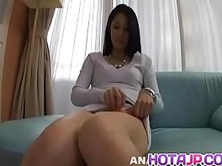 Hot japanese girl Kyoka Ishiguro stamp faithful to neck dick in perfect POV