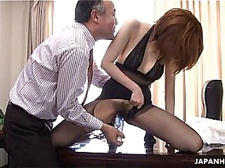Asian slut getting fucked by her boss be good enough to