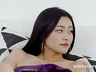 Tiny Little Japanese cutie, Rae Lil Black, gets her inked Asian pussy penetrated, taking a hard dicking unconfirmed she gets a cum filled creampie! Full Flick & 1000's Concerning elbow Private.com!