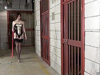 Japanese Dominatrix Sherry Strapon and Hard Facesitting Humiliation