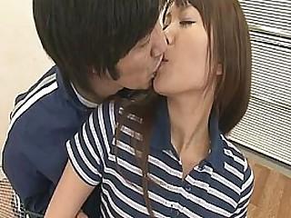 Two Guys Fuck Coupled with Creampie Suzu Minamoto