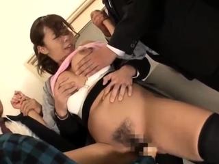 Asian japanese group lovemaking boobs