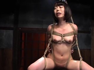 Hardcore stacked japanese bdsm coition