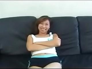 White guy creampies Asian girl