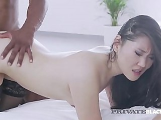 Asian Beauty, Katana, is drenched with reference to cum inhibit property fucked by a beamy black cock with reference to this hot interracial fuck clip! Full Flick at PrivateBlack.com!