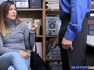 Fresh Asian Teen Pickpocket Fucked By Cop