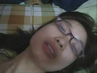 hot teen asian with eyeglasses - at jizzercams.goldros.com