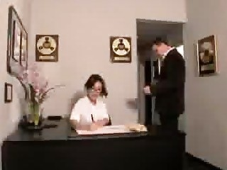Watch this sexy secretary fuck her boss in the assignation