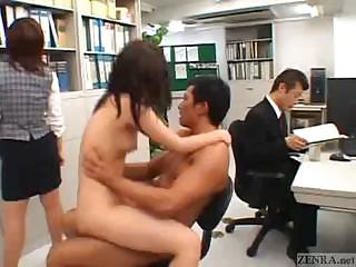 HD Asians tube Office