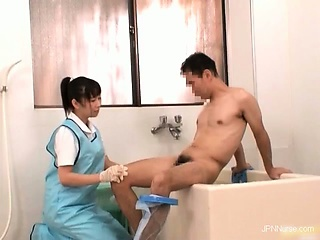 Gorgeous nurses get horny when sick
