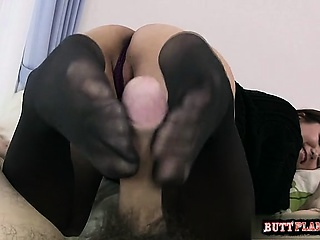 Little one creampie cleanup