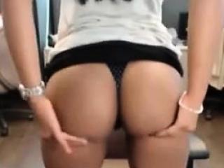 Asian young masturbate public