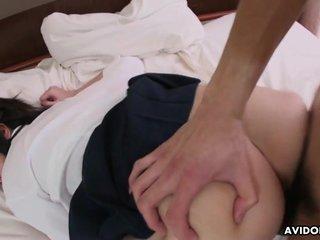 Skanky Asian schoolgirl getting will not hear of eager pus