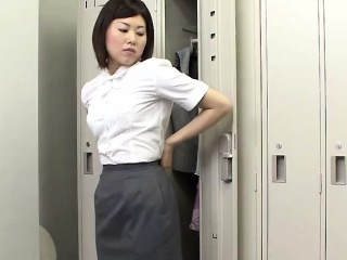Contemporary Japanese stunner is having a stunning butt